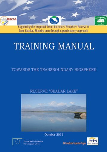 Training manual towards trans boundary ... - NVO Green Home