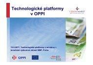 TP v OPPI - Technologické centrum AV ČR