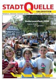 Hederauenfest 2008 vom 29. bis 31. August - Stadt Salzkotten