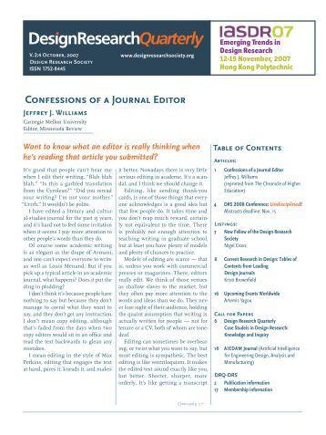 DRQ 2:4 - Design Research Quarterly