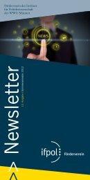 13. Ausgabe - Westfälische Wilhelms-Universität Münster