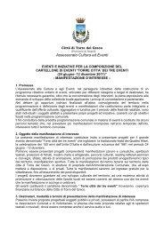 manifestazione d'interesse[1] - Comune di Torre del Greco