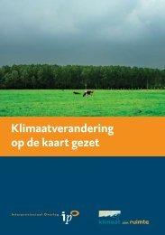 Klimaatverandering op de kaart gezet - Klimaat voor Ruimte