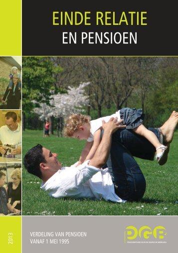 Einde relatie en Pensioen - PensioenfondsPGB