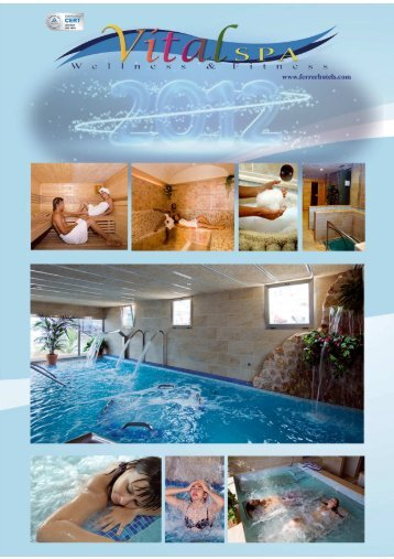 Carta de Tratamientos 2012 INGLES - Ferrer Hotels