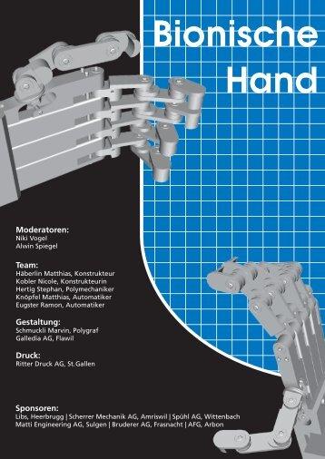 Bionische Hand - Skills Projekte