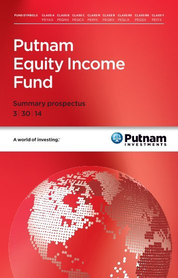 Equity Income Fund Summary Prospectus - Putnam Investments
