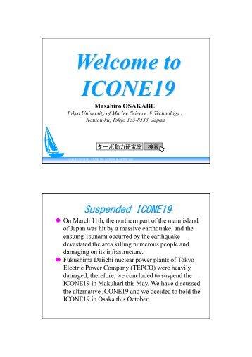 ICONE19