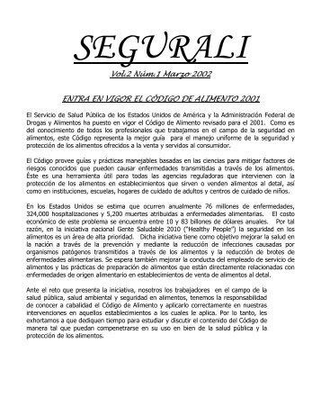 Vol.2 Núm.1 Marzo 2002 ENTRA EN VIGOR EL CÓDIGO DE ...