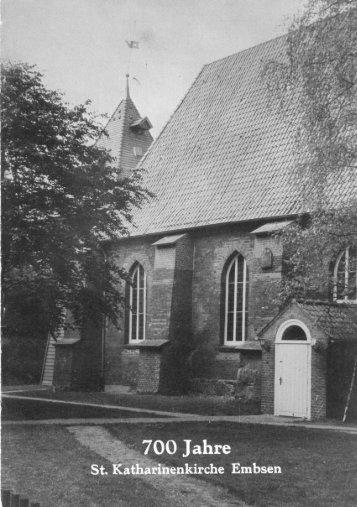 700 Jahre St. Katharinenkirche Embsen - Samtgemeinde Ilmenau