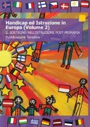 il sostegno nell'istruzione post-primaria - European Agency for ...