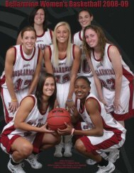 2008-09 Media Guide - Bellarmine University Athletics