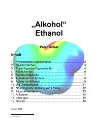 Alkohol, Ethanol - SwissEduc