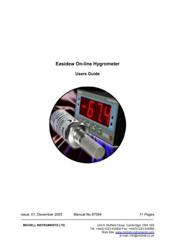 Cermet Ii Hygrometer
