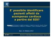 È possibile identificare pazienti affetti da scompenso cardiaco a ...