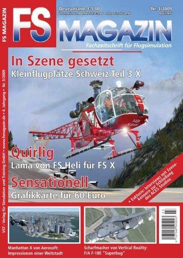 Fachzeitschrift für Flugsimulation - Flugsimulator Berlin