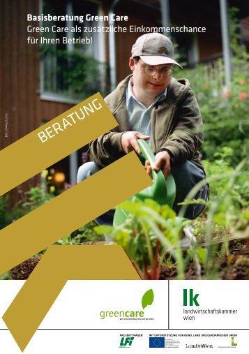 Basisberatung Green Care - Landwirtschaftskammer Wien