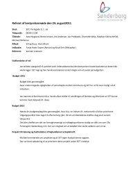 Referat af bestyrelsesmøde den 24. august2011