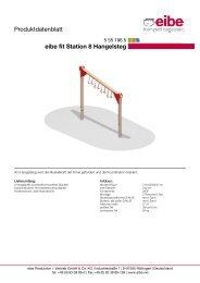 Produktdatenblatt - Eibe Produktion und Vertrieb GmbH & Co