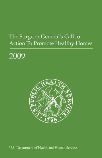 2009 - Surgeon General