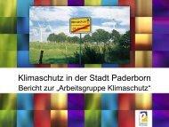 rat 15122011 klimaschutz.pdf - Stadt Paderborn