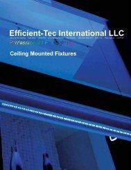 Ceiling Mounted Fixture - Efficient-Tec International