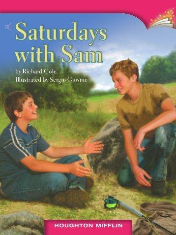 Lesson 21:Saturdays with Sam
