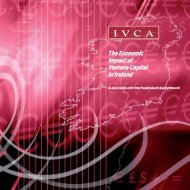 The Economic Impact of Venture Capital in Ireland - IVCA