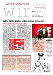 wirWir in Reinickendorf 05-06/2012 - DIE LINKE. Reinickendorf