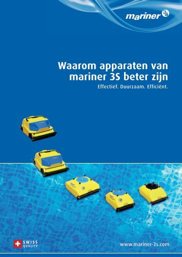 Waarom apparaten van mariner 3S beter zijn - Mariner 3S AG