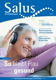Ihr Gutfühlmagazin Ausgabe 1-2012 - Salus BKK