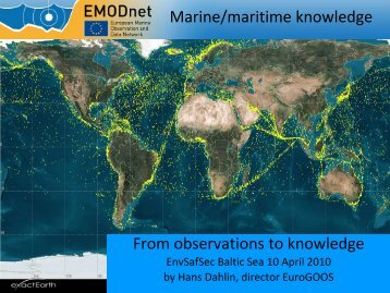 Marine/maritime knowledge From observations to knowledge