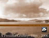 Fiscal Year 2006 Annual Report - Presidio Trust