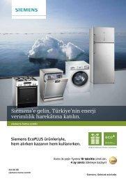 Siemens'e gelin, Türkiye'nin enerji verimlilik harekâtına katılın.