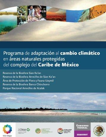 Programa de adaptación al cambio climático en áreas naturales ...