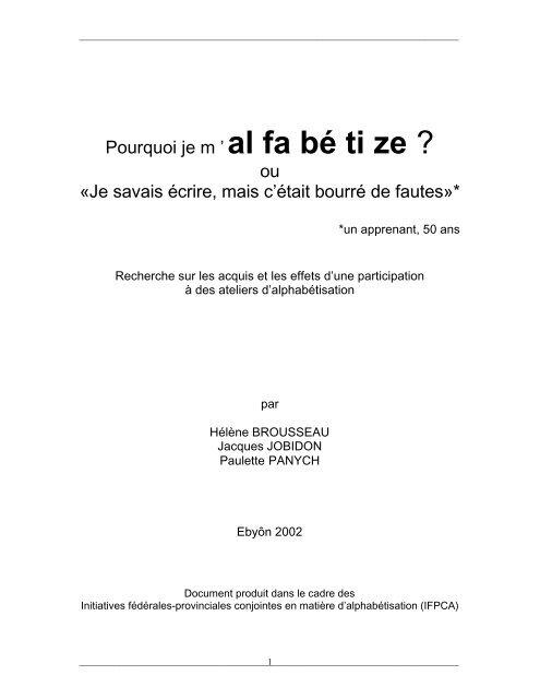 Afficher format PDF - Base de données en alphabétisation des adultes