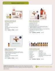 ENROLLMENT KITS - dōTERRA - Essential Oils