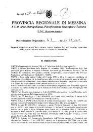 determinazione dirigenziale n. 43 del 14 giugno 2012