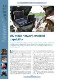 UK MoD: network enabled capability - Satellite Evolution Group