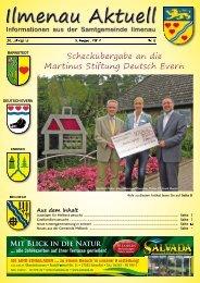 Mit Blick in die Natur - Samtgemeinde Ilmenau