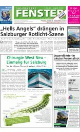 """Hells Angels"" drängen in Salzburger Rotlicht ... - Salzburger Fenster"