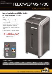 FELLOWES MS-470Ci - Shredder
