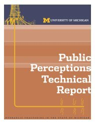 Public Perceptions Technical Report - Catskill Citizens for Safe Energy