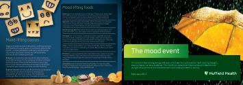 The Mood Event Leaflet - Nuffield Health