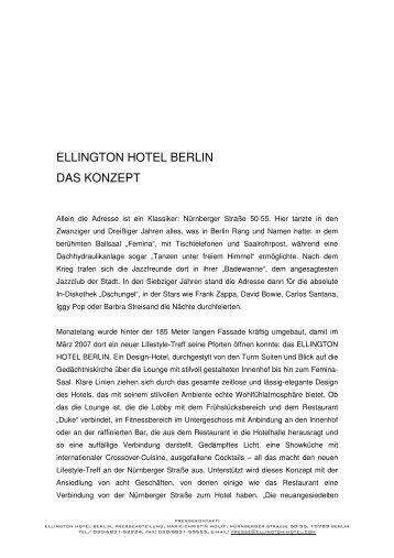 Pressemappe_Ellington Hotel Berlin