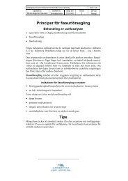 Principer för fissurförsegling - Norrbottens läns landsting