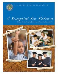 The Obama's Elementary and Secondary Education Act - Athens ...