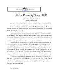 Life on Kentucky Street, 1930 - Gilbertgia.com