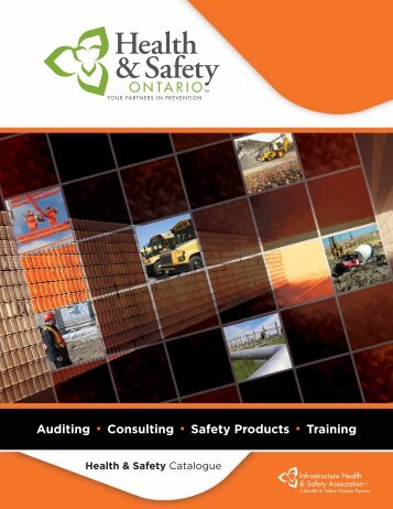 IHSA Catalogue 2010 - Auditing, Consulting, Safety Products, Training