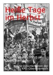Oktoberstreik 1950 - KPÖ Oberösterreich